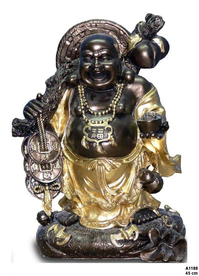 Budha - poutník / 45 cm Zakázková výroba