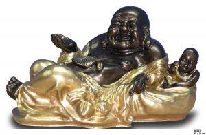 Budha ležící  /  19 x 34 cm