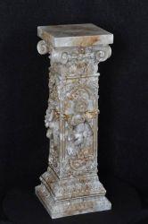 Secesní květinový sloup / 83cm / 1073 Zakázková výroba